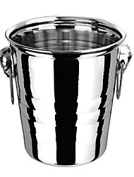 "Big Ice Bucket, Stainless steel 10.5""*8""*9"""