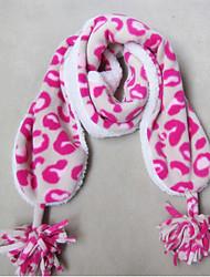 Девушки Роуз Шаблоны ватки коралла шарф