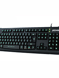 GX10 USB Luce LED Wired Keyboard
