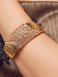 Elegant Alloy With Rhinestone Wedding Bridal Bracelet