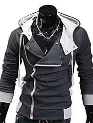 Men's Fashion Slim Style Cotton Hoodies Sweatshirts