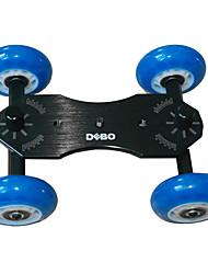 DEBO Azul Escritorio carro cámara V con 1/4screw (Azul + Negro)