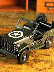 """11 """"Estilo Retro Car Exército Tipo de Metal Collectible"""