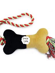 Nette Bäckerei Knochen Rope Chew Spielzeug für Haustiere Hunde