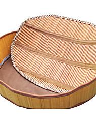 Summer Bamboo Mat pliable Kennel-en utilisant lit pour animaux de compagnie Chiens