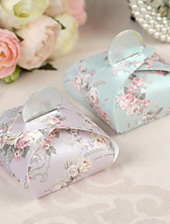 12 Piece/Set Favor Holder - Creative Pearl Paper Favor Boxes Floral