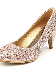 zapatos de las mujeres cerraron Toe tacón bajo los zapatos más colores disponibles