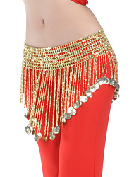 Belly Dance Belt Women's Polyester Beading Coins