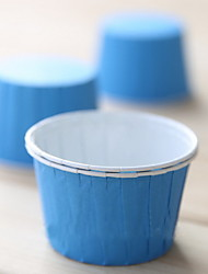 50 Шт./набор Фавор держатель-Креатив Картон Упаковка и коробки для кексов Без персонализации