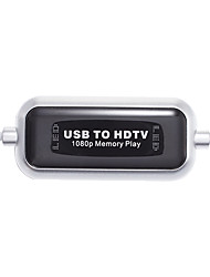 USB to HDTV 1080P Memory Play USB Direct Output High-definition Movies
