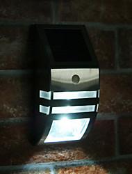 White Light LED Solar Light Wall Light with PIR Motion Sensor