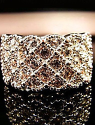 Bague en or diamant Miss U de femmes