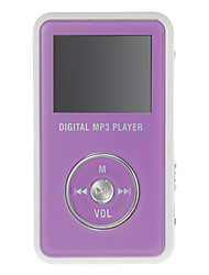 OLED de cristal MP3 Music Player (4GB)