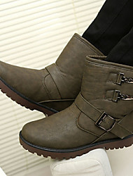 Sanxiong Genuine Leather Snow Boots