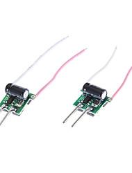MR16 4 * Motorista 1W LED de alimentação (12-18V)
