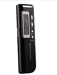 4G MP3 Digital Voice Recorder Schwarz