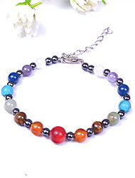 CUISHANG Colorful Agate Bracelet