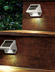 Solar Powered LED Light Pathway Path Stair Wall Mounted Garden Lamp(CIS-57163)