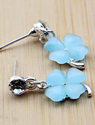 DFMY der Blumenblau Katzenauge-Stein-Bolzen