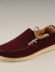 Chaussures New Handmade Simul marées Chaussures Chaussures en cuir (à vin)