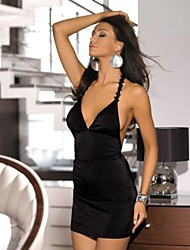 Stretch Lycra sexy del vestito floreale con cinghia e perizoma abbinato 2261