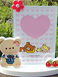 """5.5 """"H Country Style Cadre Photo Lovely Bear"""