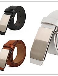 Das mulheres o couro genuíno Cintos Correia cintura cowskin Para Mulheres