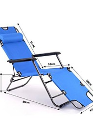 Outdoors Colorful 2 In 1  Portable Folding Beach Camping Bed Chair