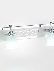 LED/Bulb Included Wall Sconces/Bathroom Lighting , Modern/Contemporary LED Integrated Metal