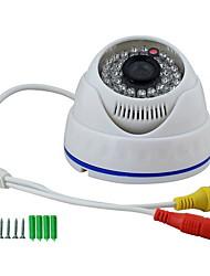 420TVL 1/3 Sony CCD CCTV caméra IR dôme HD ys-808D