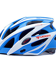 MOON Women's / Men's Mountain / Road / Half Shell Bike helmet 25 Vents Cycling Cycling / Mountain Cycling / Road Cycling PC / EPSWhite /