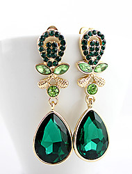 Kayshine Green Diamond Earrings
