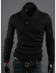Style de ZHELINKorean pur Sweater Pull à col roulé