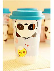 Handstand Bear tazza di caffè, porcellana 16 once