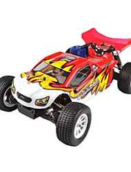 1/10 Maßstab Short Course Nitro RC Truck Two Speed ​​(红)