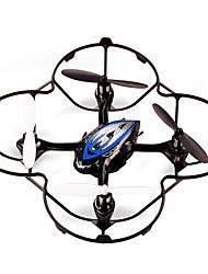 jjrc F180 rc ufo 2.4G 4 canales 100m aviones Quadcopter control remoto con giroscopio llevó la luz (azul)