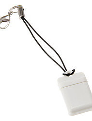 Mini Universal Memory Card Reader (White)