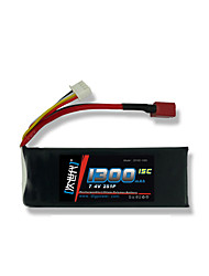 DLG 7.4V 1300mAh 2S 15C Lipo Battery
