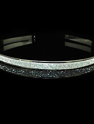 Silver Alloy Headbands With Rhinestone Wedding Headpieces