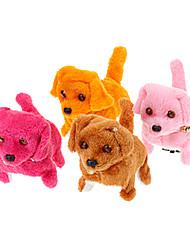 Poilu électrique style chien jouets pour les enfants (couleur aléatoire)