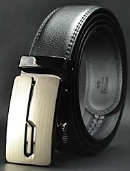Men's Leisure  Genuine Leather Automatic Buckle Belt