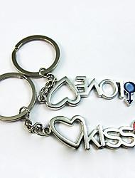 Kiss & Amore abbinabili Keychain - insieme di una coppia