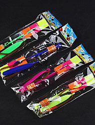 50pcs Voador Umbrella LED Amazing Flying Arrows Brinquedos
