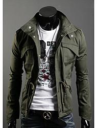 Manteau Shangdu mode épaississent (vert armée)