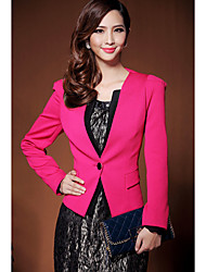 Women's Coats & Jackets , Polyester Casual/Work Duolabana