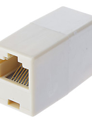 RJ45 8 pines hembra a hembra Cable Extender acoplador