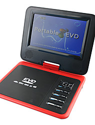 "FJD-760 Portable 7.8 ""LCD HD Mobile DVD TV FM Card Reader jeu USB"