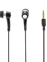 in-ear headphonefor ipod / ipad / iphone / mp3 (preto)