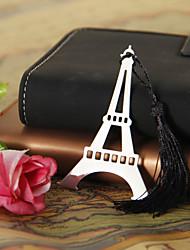 Argent Eiffel signet avec Black Tassel