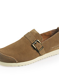 Chaussures Handmade Simul marées Chaussures Chaussures en cuir (kaki)